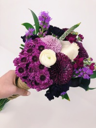 Perfectly Plum Bouquet- $74.99